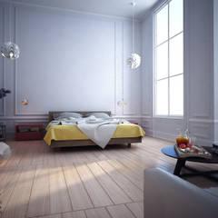 Quarto Hotel : Hotéis  por Breion Arquitetura
