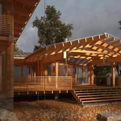 ДЕРЕВЯННЫЙ ДОМ CHALET-280: Деревянные дома в . Автор – project-ks
