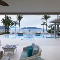 Bể bơi vô cực by Tammaro Arquitetura e Engenharia