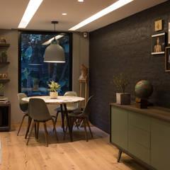 Dining room by ARCO Arquitectura Contemporánea , Modern