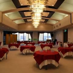 レセプションルーム: 空間設計カラー店舗設計事務所が手掛けたイベント会場です。