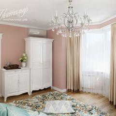 غرفة نوم تنفيذ Студия Инстильер | Studio Instilier