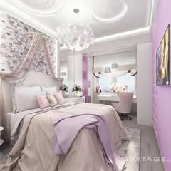 Habitaciones infantiles de estilo  por Gratage-Visual architecture interior