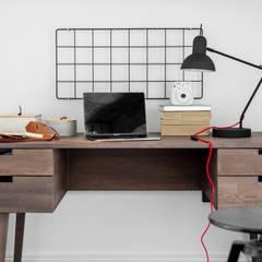 Our photoshoot of apartment design by Lokal Studio: styl , w kategorii Domowe biuro i gabinet zaprojektowany przez Ayuko Studio