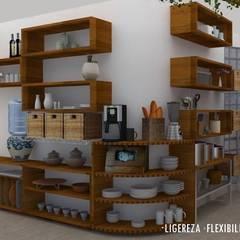 آشپزخانه by Urbe. Taller de Arquitectura y Construcción