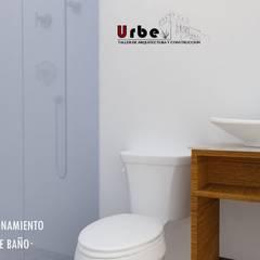 REVITALIZACIÓN DE COCINA : Baños de estilo  por Urbe. Taller de Arquitectura y Construcción