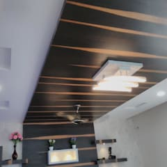 False Ceiling:  Walls by Chavadi Interiors