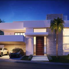 Residência - Condomínio Aquárius IV: Casas  por Art&Contexto Arquitetura