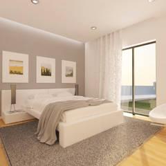 minimalistic Bedroom by Pedro Palma Arquiteto