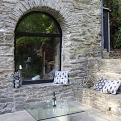 حیاط by 2kn Architekt + Landschaftsarchitekt