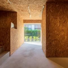 R壁の家: 五藤久佳デザインオフィス有限会社が手掛けた書斎です。