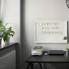 Aranżacja biura Idea House Częstochowa: styl , w kategorii Biurowce zaprojektowany przez Musiał Studio,Skandynawski