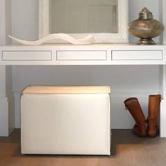 Woonhuis het Gooi: landelijke Slaapkamer door design iD