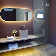 Custom Vanity:  Hotels by Turquoise