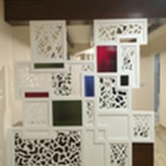 Designer Partition:  Living room by Vedasri Siddamsetty,Modern