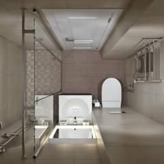 Spa de estilo  por Студия архитектуры и дизайна Дарьи Ельниковой