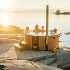 Skargards Regal - The luxurious Hot Tub from Sweden Scandinavian style pool by Skargards Hot Tubs UK Scandinavian