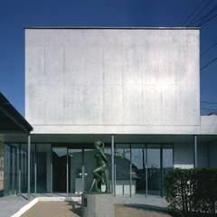 正面: 株式会社ラウムアソシエイツ一級建築士事務所が手掛けた美術館・博物館です。