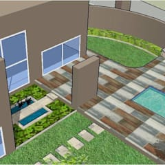 Something different:  Patios by Acton Gardens