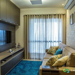 اتاق نشیمن توسطCamarina Studio