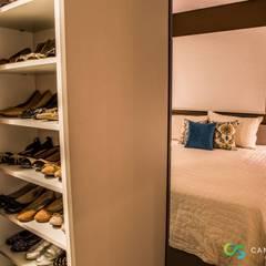 غرفة الملابس تنفيذ Camarina Studio