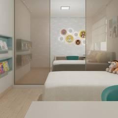 Nursery/kid's room by Marcela Matos Arquitetura e Interiores, Minimalist