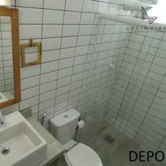 Banheiro: Banheiros  por LV Arquitetura