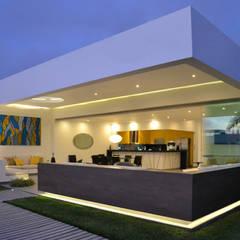 Casa de Playa NB: Casas de estilo  por DMS Arquitectas, Moderno