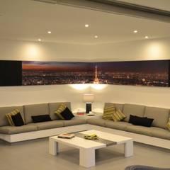 Casa de Playa NB: Salas / recibidores de estilo  por DMS Arquitectas, Moderno