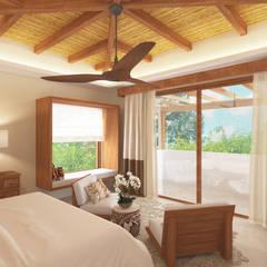 Casa Biscotti: Dormitorios de estilo  de Hdl Studio