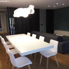 VIVIENDA RESIDENCIAL - Arquitectura Interior y Reforma Integral: Comedores de estilo  de JORGE RIQUELME | DISEÑO INTERIOR