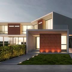 Casa MDZ: Casas de estilo  por del castillo schiffino  |  dCS*, Minimalista