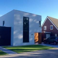 Voorgevel:  Huizen door Nico Dekker Ontwerp & Bouwkunde