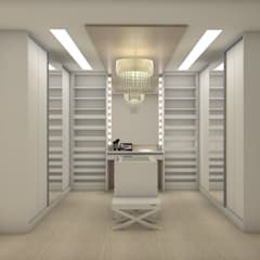 Dressing room by Matos Xavier Arquitetura