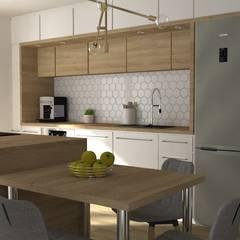 Kitchen by PUFA STUDIO