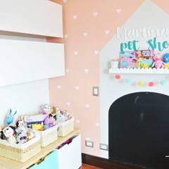 Cuarto de Martina: Habitaciones infantiles de estilo  por Little One