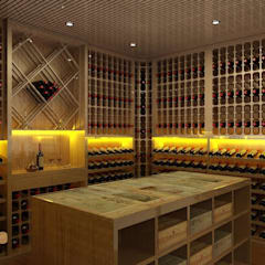 Wine cellar by Edr Cristal - Adegas Climatizadas,