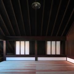 成田市K邸: 株式会社 鎌倉設計工房が手掛けた書斎です。