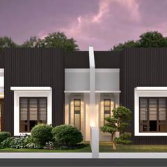 Artomoro Residences: Rumah oleh Axis Citra Pama, Modern Batu Bata