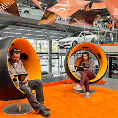 Autodealers door spek Design