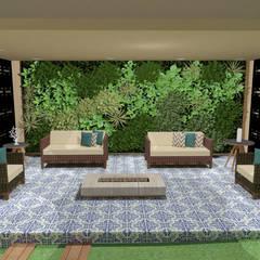 Projetos: Jardins  por Juliana Gasparin Paisagismo e Execução Ltda.