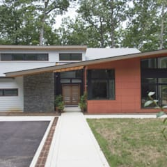Annapolis Renovation/Addition: modern Houses by ARCHI-TEXTUAL, PLLC