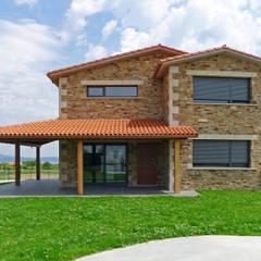 منازل تنفيذ AD+ arquitectura, ريفي حجر