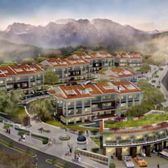 Alto Mimarlık  – Artemare Residence:  tarz Bahçe