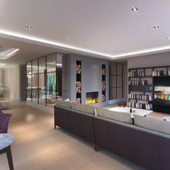Alto Mimarlık  – Artemare Residence:  tarz Oturma Odası