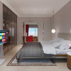 Alto Mimarlık  – Artemare Residence:  tarz Yatak Odası