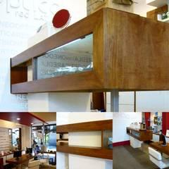 Kantor & toko oleh Estudio Karduner Arquitectura, Modern Kayu Wood effect
