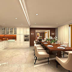 Private Residence @ Karawaci:  Dapur by Kamala Interior