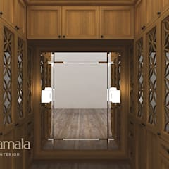 Private Residence @ Karawaci:  Ruang Ganti by Kamala Interior
