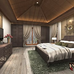 Dormitorios de estilo clásico de Kamala Interior Clásico